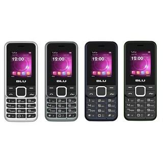 BLU Tank Plus 2 T530 Unlocked GSM Dual-SIM Feature Phone w/ Built-in FM Antenna