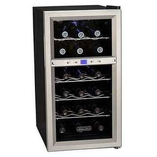 Koldfront TWR181E 14 Inch Wide 18 Bottle Wine Cooler with Dual Thermoelectric Cooling Zones|https://ak1.ostkcdn.com/images/products/is/images/direct/c05df25e023d0abef1abf792097b76a62b68561a/Koldfront-TWR181E-14-Inch-Wide-18-Bottle-Wine-Cooler-with-Dual-Thermoelectric-Co.jpg?_ostk_perf_=percv&impolicy=medium