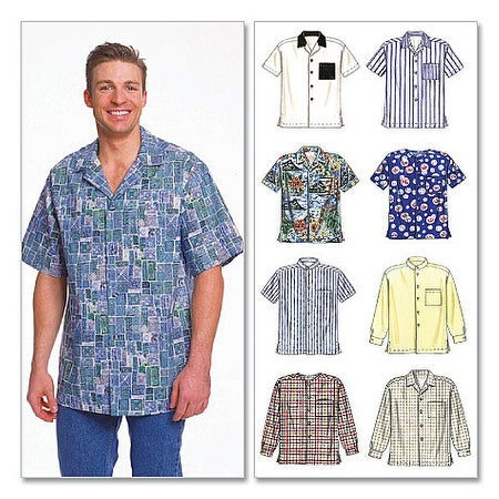 Men's Shirts-LRG -*SEWING PATTERN*