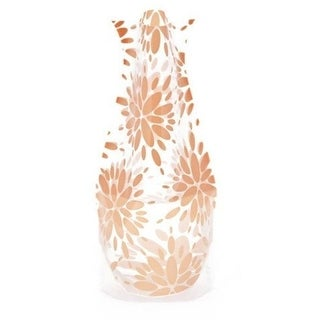 Modgy 66136x2 Myvaz Expandable Flower Vase Lila Peach-Pack of 2