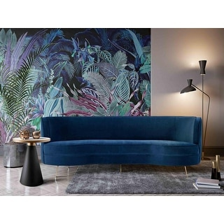 Link to Flare Navy Velvet Sofa Similar Items in Sofas & Couches