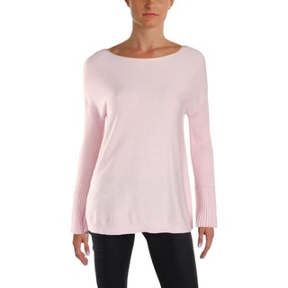 Vince Camuto Womens Pullover Sweater Knit Ribbed