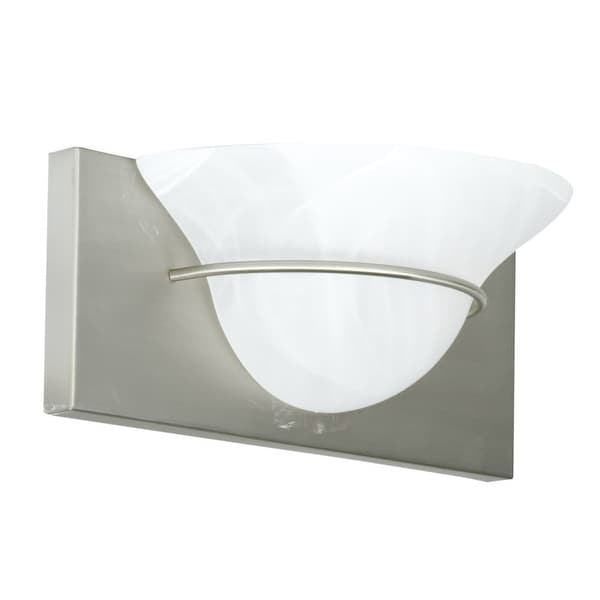 """Craftmade 17112 Moonglow 5"""" Tall 1 Light Bathroom Wall Sconce"""