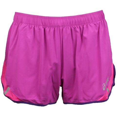 Asics Womens 3 Inch Split Short Athletic Shorts Shorts