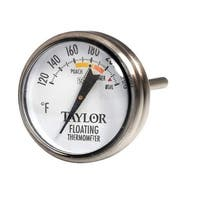Taylor 5933 Stainless steel Floating Thermometer, 120 - 240 Deg F