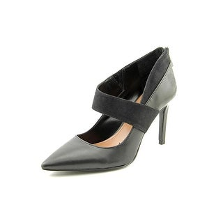 Vince Camuto Latour Pointed Toe Leather Heels