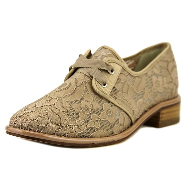 Adrianna Papell Paisley Women Round Toe Canvas Nude Oxford