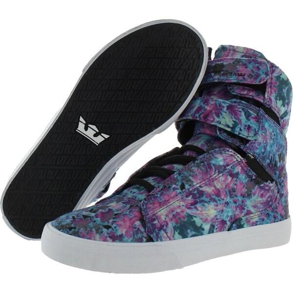 supra floral high tops