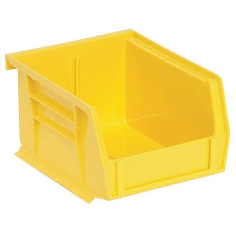 Quantum QUS210YL Yellow Polypropylene Storage Bin