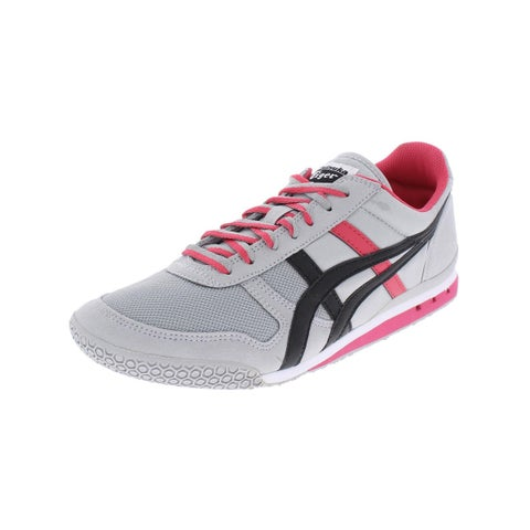 Onitsuka Tiger Womens Walking Shoes Faux Suede Front Lace