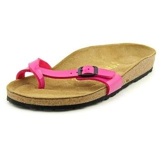Birkenstock Piazza N/S Open Toe Synthetic Slides Sandal