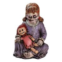 "12"" Tall Baby Girl Zombie Halloween Prop"
