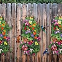 Hummingbird Wildflower Garden with Vertical Growing Bag