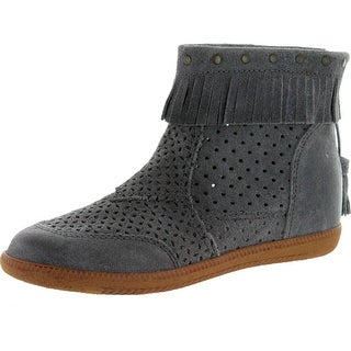 Otbt Womens Stanton Equestrian Boots - Grey