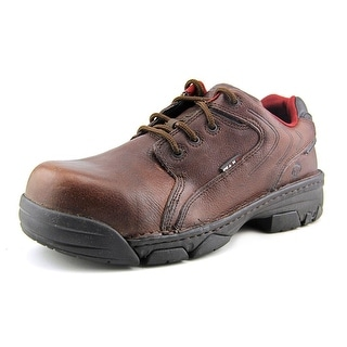 Wolverine Falcon Oxford   Composite Toe Leather  Work Shoe