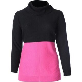Lauren Ralph Lauren Womens Plus Cashmere Turtleneck Turtleneck Sweater