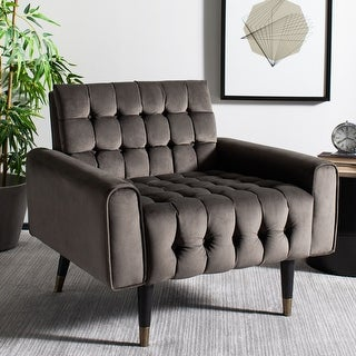 """Link to Safavieh Amaris Tufted Accent Chair - 32.7"""" x 31.5"""" x 28.4"""" - 32.7"""" x 31.5"""" x 28.4"""" Similar Items in Living Room Chairs"""