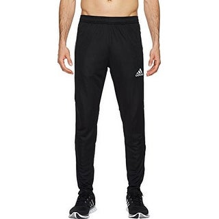 Adidas Mens Tiro 17 Trg Pant, Black/Silver