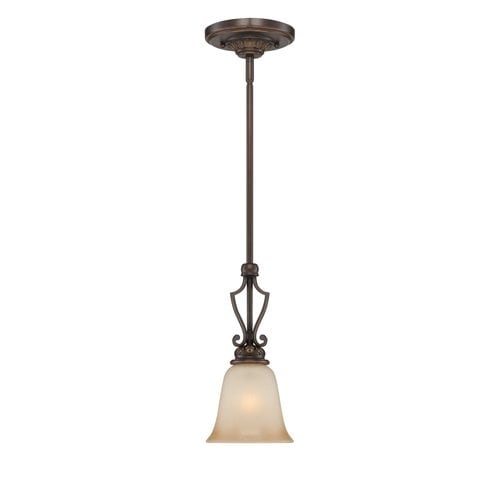 Jeremiah Lighting 28221 Josephine 1 Light Mini Indoor Pendant - 6 Inches Wide