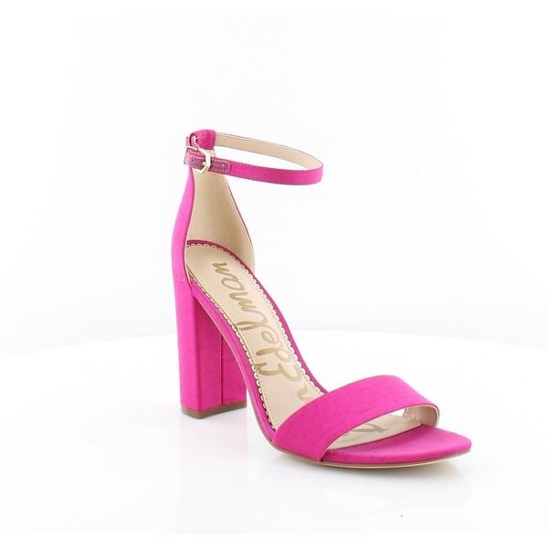 4f9524d37630 Shop Sam Edelman Yaro Women s Sandals Deep Pink - Free Shipping ...