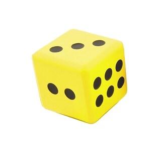 Jumbo Dice 6In Yellow