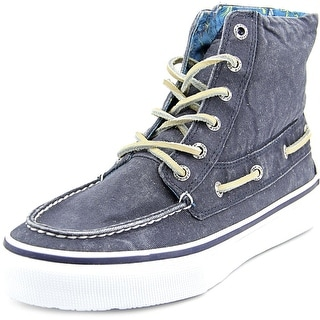 Sperry Top Sider Bahama Boot Men Canvas Blue Fashion Sneakers