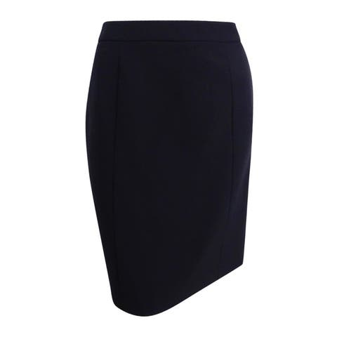 Tommy Hilfiger Women's Pencil Skirt (0, Black) - Black - 0