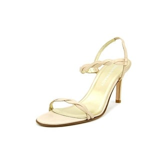 Linda Allard Ellen Tracy Bebe Women  Open Toe Canvas  Sandals