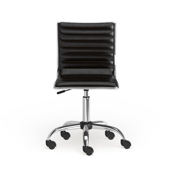 Carson Carrington Lund Chrome Contemporary Office Chair. Opens flyout.