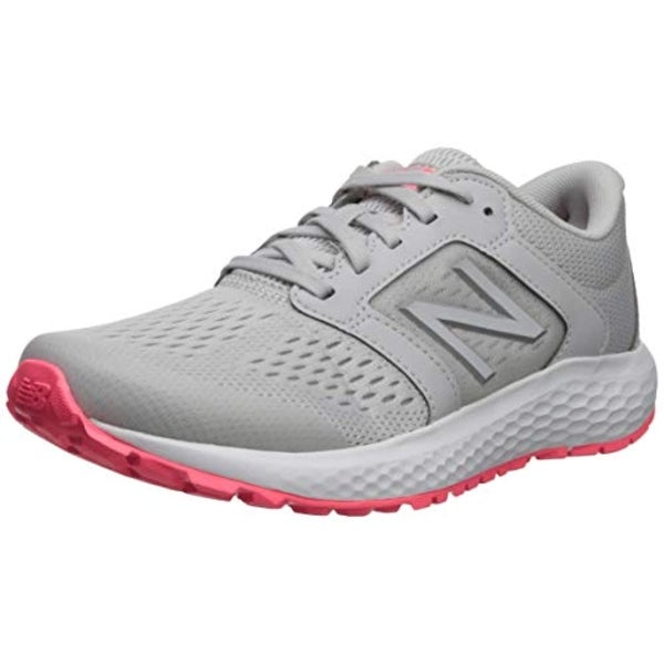 cb0ca156d4c1 Shop New Balance Women's 520V5 Cushioning Running Shoe, Summer  Fog/Guava/Team Away Grey - Free Shipping Today - Overstock - 27125436