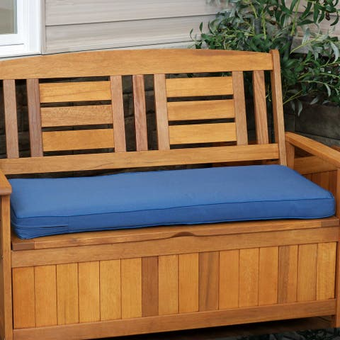 Sunnydaze Indooor/Outdoor Cushion for Bench or Porch Swing - 41-Inch x 18-Inch