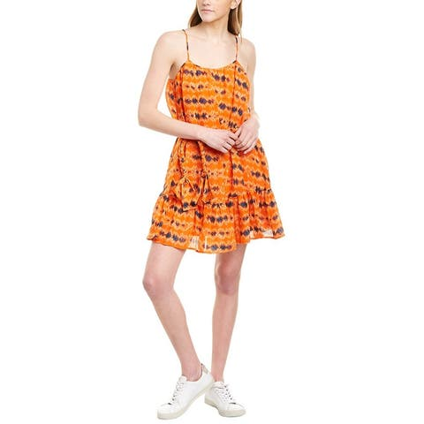Wayf Dolly Belted Swing Dress