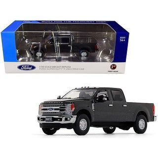 Link to Ford F-250 Crew Cab Super Duty Pickup Truck Magnetic Gray 1/50 Diecast Model Car by First Gear - 1/50 Diecast Model Similar Items in Toy Vehicles