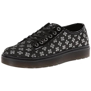 Dr. Martens Womens Amp Fashion Sneakers Patent Trim Metallic