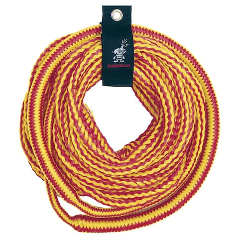 Airhead 4,150 lb bungee tube tow rope 50 ft 1-4 riders