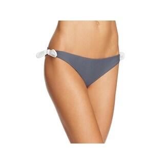 Tularosa Womens Side Bows Solid Swim Bottom Separates