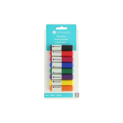 Silh-pen-start-3t silhouette sketch pens starter pack 8pc basic