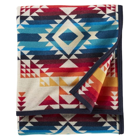 Pendleton Pilot Rock Ivory Throw