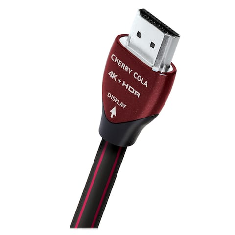 AudioQuest Cherry Cola Active Optical HDMI Cable - 80' (25m)