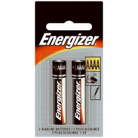 Energizer E96BP-2 Miniature Alkaline AAAA Battery, 2-Pack