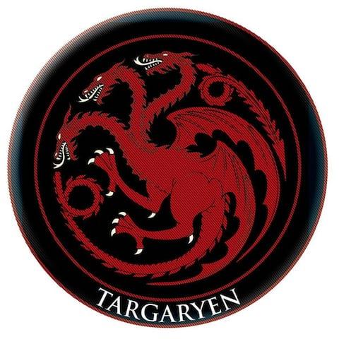 Game of Thrones Crest Patch: Targaryen - Black