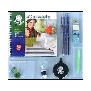 Boye Kit Crochet Dude Beginner Let's Start Crochet