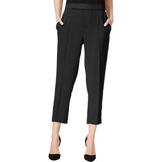 Rachel Rachel Roy Womens Cropped Pants Solid Double Pleat