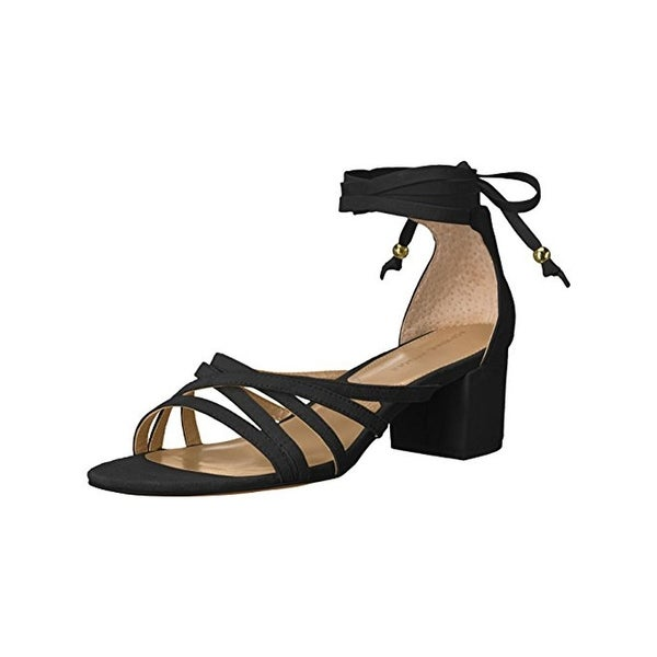 Adrienne Vittadini Womens Alesia Dress Sandals Suede Open Toe