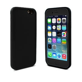 Indigi® Black IP68 Rated Waterproof Dustproof Splashproof Case Covering for iPhone 6/6s