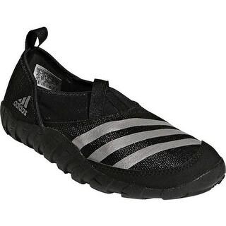 adidas Children's Jawpaw Slip On Water Shoe Black/Silver Metallic/Black