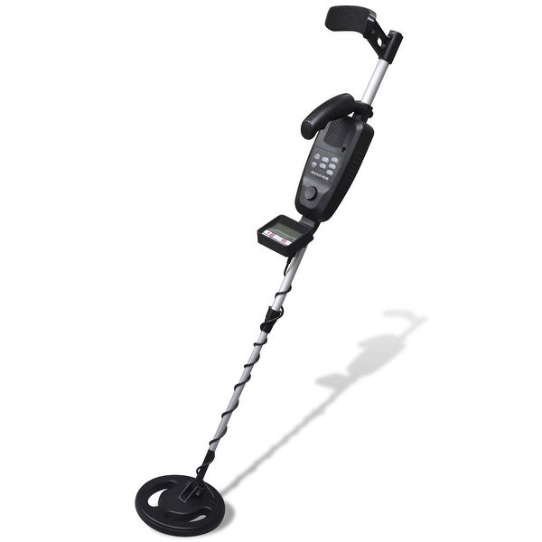 """vidaXL LCD Display Metal Detector with 8"""" Search Coil"""