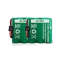 Replacement Panasonic HHR-P401 NiMH Cordless Phone Battery (2 Pack)