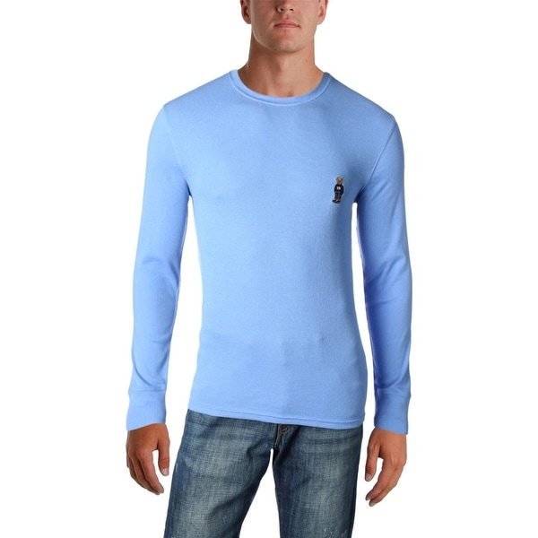 415c628b Shop Polo Ralph Lauren Mens Thermal Shirt Waffle-Knit Lightweight - Free  Shipping On Orders Over $45 - Overstock - 26639388