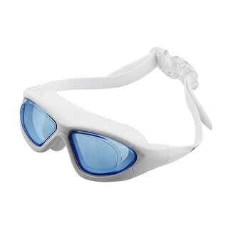 Clear Wide Vision Anti Fog Adjustable Belt Swim Glasses Swimming Goggles w Storage Case for Adult Men Women